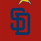 Chargers/Padres by DisneyFreak05