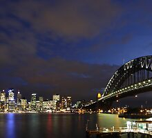 Images of Australia - Sydney Harbour by Gerry Pearce