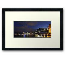Images of Australia - Sydney Harbour Framed Print