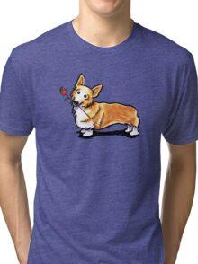 Corgi Sweetheart Tri-blend T-Shirt