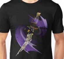 Dagger of Time (draped) Unisex T-Shirt