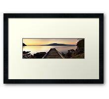 Lost and Found - Queens Lake Framed Print