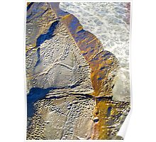 Rock Art- by original beachscapes Poster