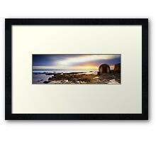Pump House - Newcastle Framed Print