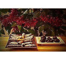 Christmas sweets Photographic Print