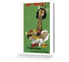 Am I Proud! Greeting Card