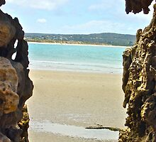 Rock Art- by original beachscapes by AndrewTonkin