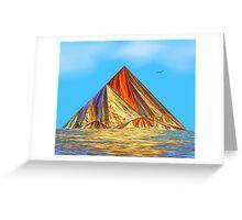 Pyramid Mountain No 2 Greeting Card