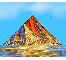 Pyramid Mountain No 2 Photographic Print