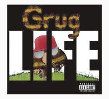 Grug Life - sticker by Diabolical