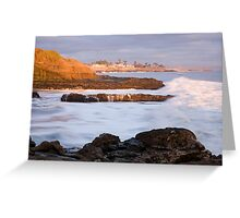 Mitchells Beach Sunset Greeting Card