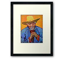 Old Provençal Peasant by Van Gogh Framed Print