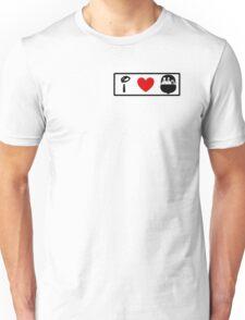 I Heart Haunted Mansion (Classic Logo) Unisex T-Shirt