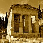 A Temple of Delphi by Faisz91