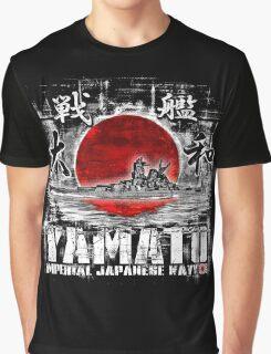 Battleship Yamato Graphic T-Shirt