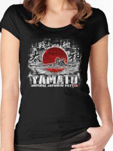 Battleship Yamato Women's Fitted Scoop T-Shirt