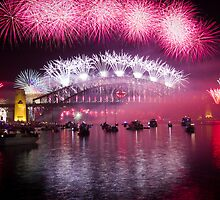 NYE 2013 FIREWORKS | SYDNEY HARBOUR BRIDGE by RedDash
