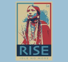 RISE - Idle No More - by Aaron Paquette Kids Clothes