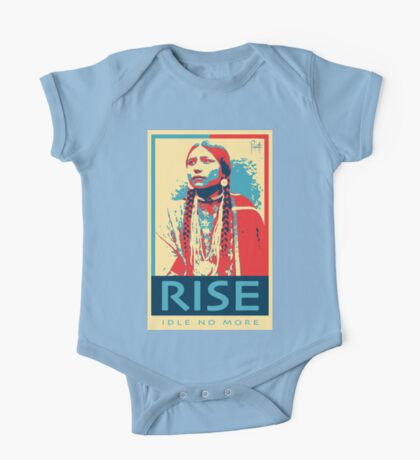 RISE - Idle No More - by Aaron Paquette One Piece - Short Sleeve