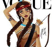 Native American Beauty by fairyl