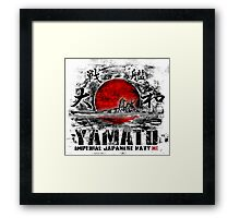 Battleship Yamato Framed Print