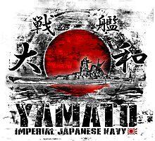 Battleship Yamato Photographic Print