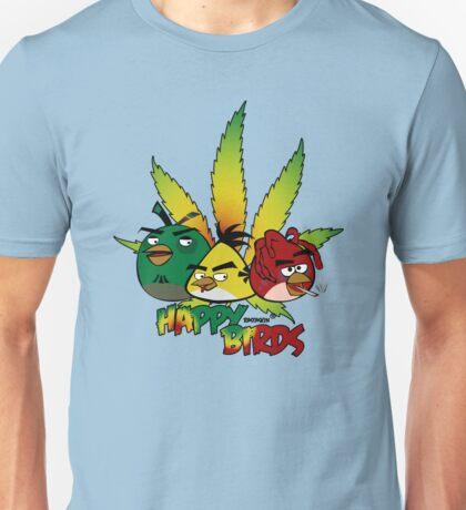 Happy Birds Unisex T-Shirt