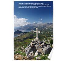 Pilgrim Cross Poster