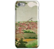 Halifax England an old Picture 1830. iPhone Case/Skin
