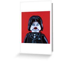 Marilyn Manson Portrait Greeting Card