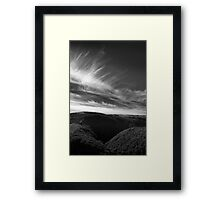 North Devon Landscape Framed Print