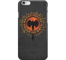 Baruk Khazâd - Axes of the Dwarves iPhone Case/Skin