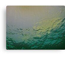 VANITY GREEN Canvas Print