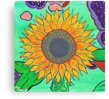 Sarah's Sunflower Canvas Print