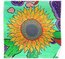Sarah's Sunflower Poster