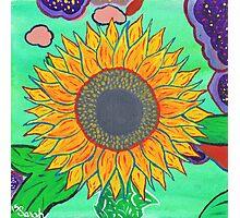 Sarah's Sunflower Photographic Print