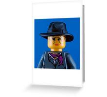 Quentin Crisp Portrait Greeting Card