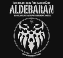 Interplanetary Federation Ship Aldebaran by Samuel Sheats