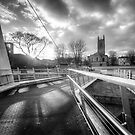 Derby Cathedral Footbridge by Yhun Suarez