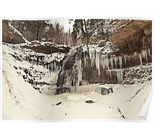Tiffany Falls - In The Dead Of Winter © Poster