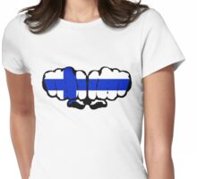 Finnish Fists Womens Fitted T-Shirt
