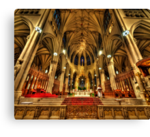 St Patrick's Cathedral - New York 3.0 Canvas Print