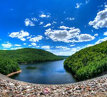 Colebrook River Lake  by Timothy Borkowski