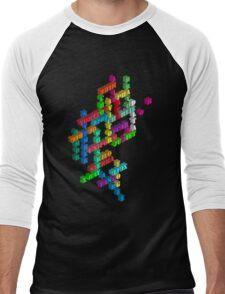 Alphabet Men's Baseball ¾ T-Shirt