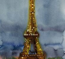 The Eiffel Tower by Svetlana Mikhalevich