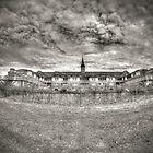 Seaside Sanatorium - Front View by Timothy Borkowski