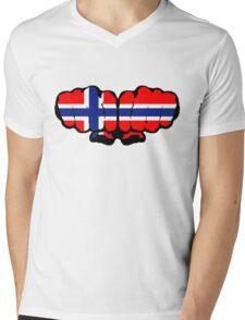 Norwegian Fists Mens V-Neck T-Shirt