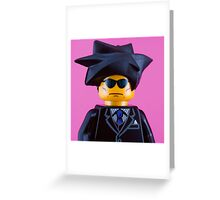 John Cooper Clarke Portrait Greeting Card