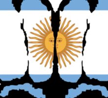 Argentinian Fists Sticker