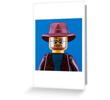 Adam Savage Portrait Greeting Card
